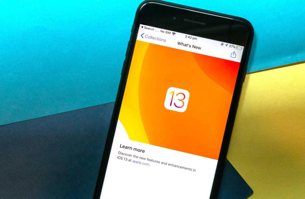 iOS 13.4 developpeur beta La bêta 5 diOS 13.4 et diPadOS 13.4 sont disponibles
