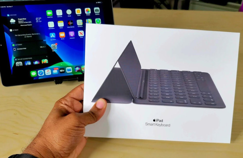 iPad Smart Keyboard iPad Pro : un Smart Keyboard avec trackpad intégré serait en préparation chez Apple