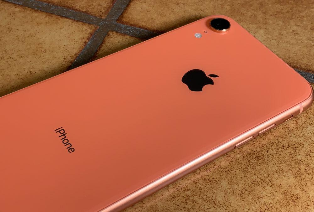 iPhone XR Corail LiPhone XR a été le smartphone le plus vendu au monde en 2019, selon Omdia