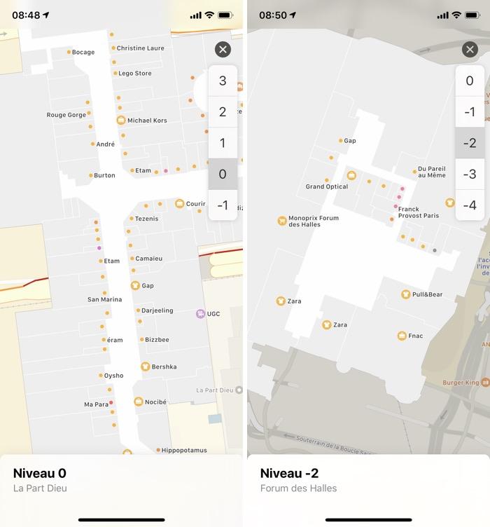 iphone plans interieurs Plus de plans intérieurs en France dans plusieurs centres commerciaux et aéroports