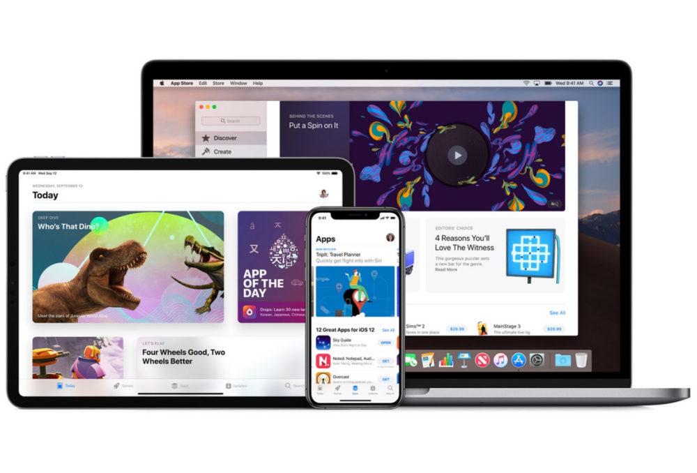 App Store iOS macOS Applis iOS, iPadOS, watchOS, macOS et tvOS : les achats universels sont désormais disponibles