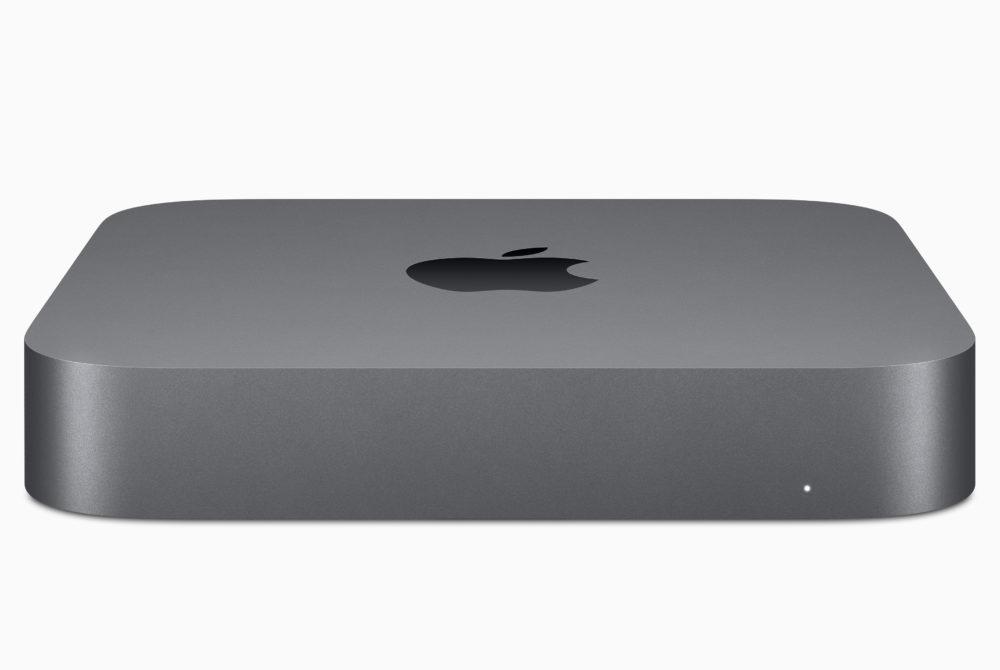 Mac mini : Apple le met à jour en doublant la capacité de stockage