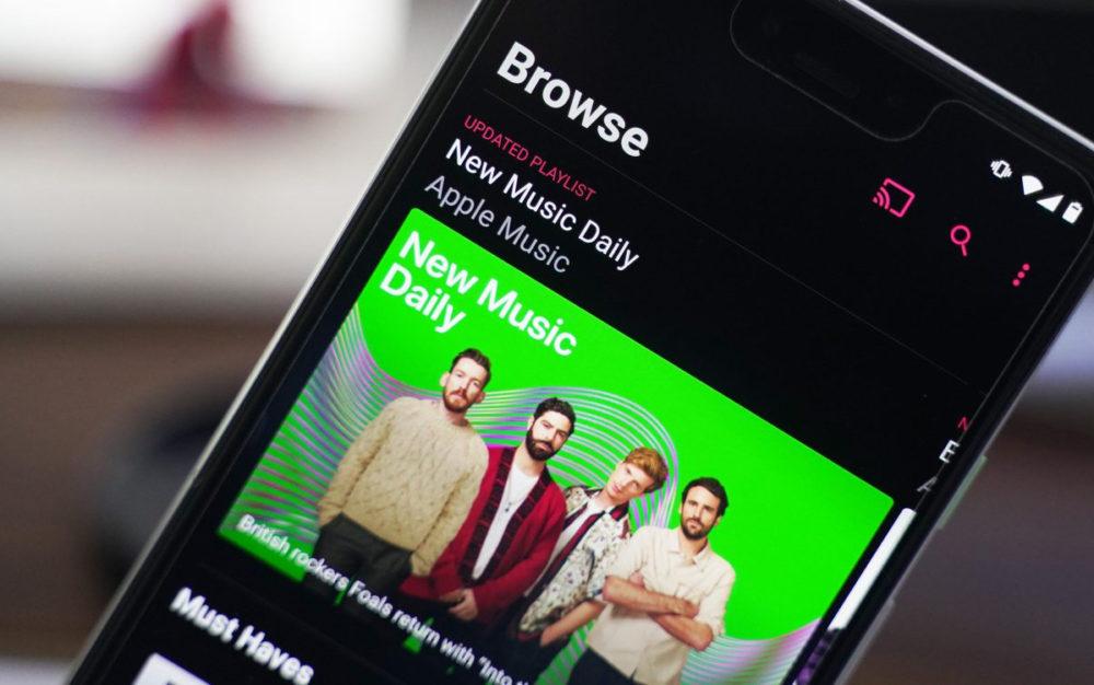 Apple Music Android Apple Music arrive désormais dans lapplication Shazam sur Android