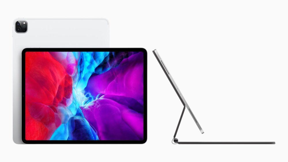 Apple Nouvel iPad Pro Magic Keyboard Apple annonce un nouvel iPad Pro avec un nouvel Magic Keyboard équipé dun trackpad