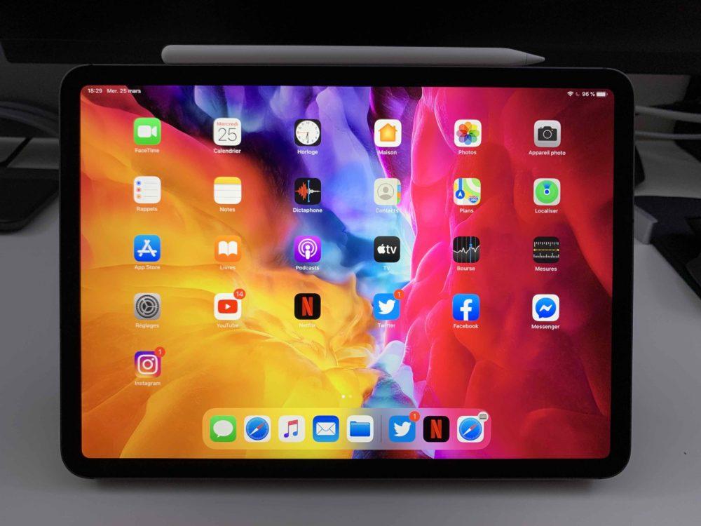 Apple iPad Pro 2020 2 La puce A12Z de liPad Pro 2020 est similaire à lA12X de liPad Pro 2018 avec un cœur graphique de plus