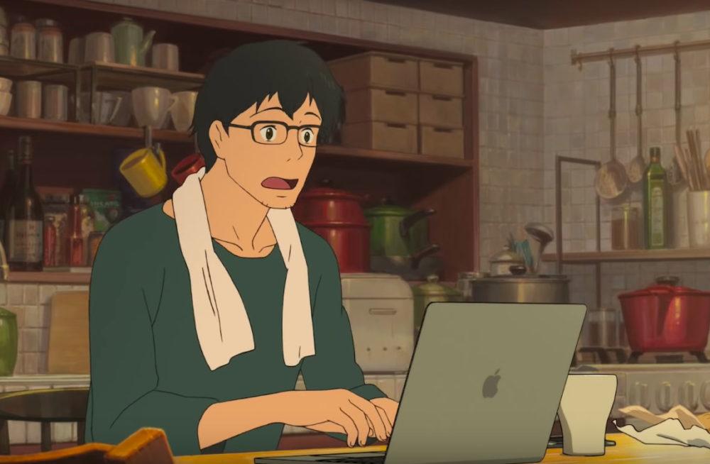 Behind the Mac Pub Facon Anime Apple publie une vidéo animée pour le Mac sur sa chaîne YouTube japonaise