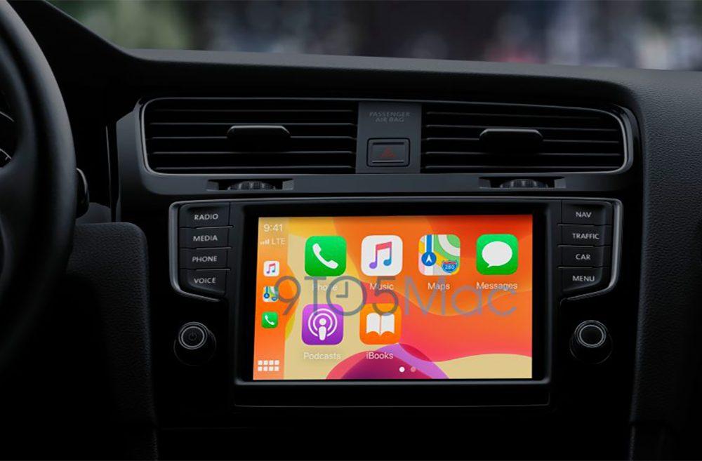 CarPlay iOS 14 iOS 14 indique que CarPlay pourrait supporter les fonds décran et plus de détails seront ajoutés dans Plans