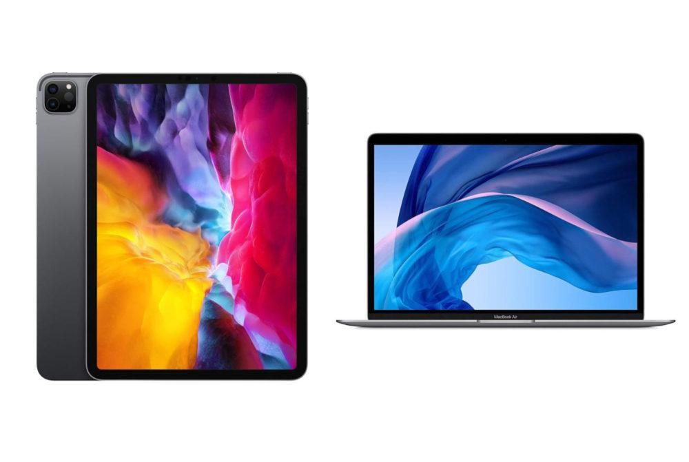 MacBook Air 2020 iPad Pro 2020 Apple a mis en place des limites dachat sur le nouvel iPad Pro, le nouveau MacBook Air et les iPhone