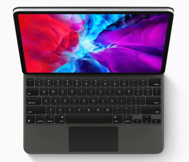 Nouvel iPad Pro 2020 Smart Keyboard Apple annonce un nouvel iPad Pro avec un nouvel Magic Keyboard équipé dun trackpad