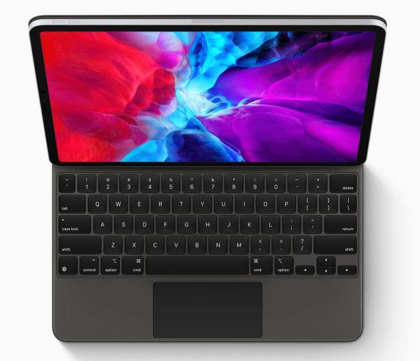 Nouvel iPad Pro 2020 Smart Keyboard Apple annonce un nouvel iPad Pro avec un nouvel Magic Keyboard équipé dun trackpad
