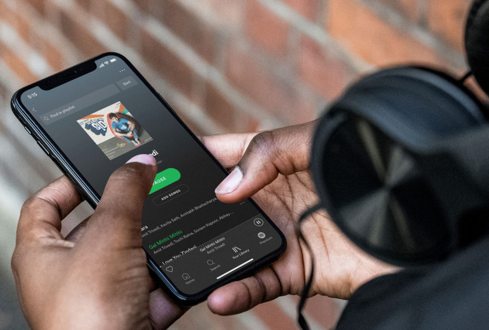 Spotify iPhone X Les widgets de Spotify sur iPhone avec iOS 14 sont en cours de test