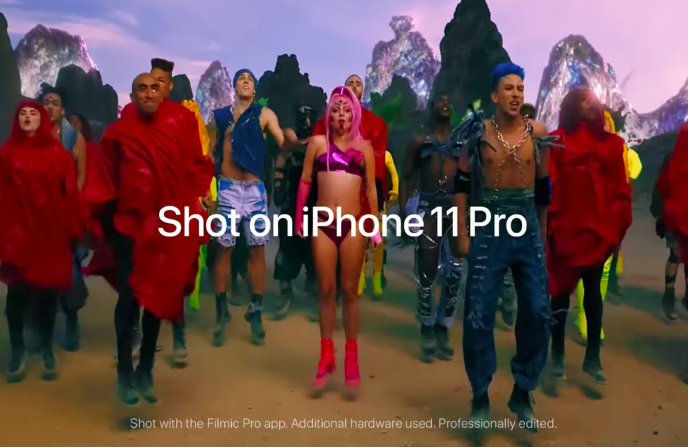 Stupid Love Video Lady Gaga Filmee avec iPhone 11 Pro Stupid Love, la dernière vidéo de Lady Gaga qui est tournée à laide de liPhone 11 Pro