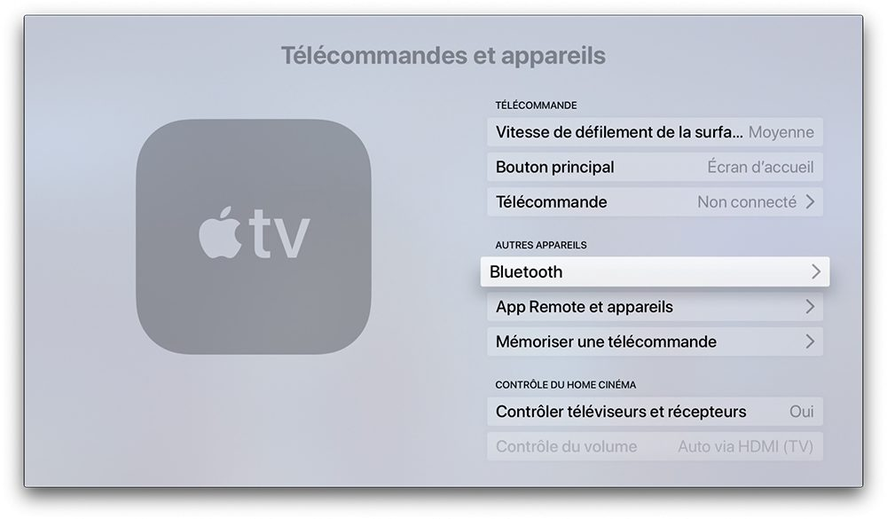 apple tv bluetooth Comment connecter une manette de PS4 ou de Xbox sur iPhone, iPad ou Apple TV