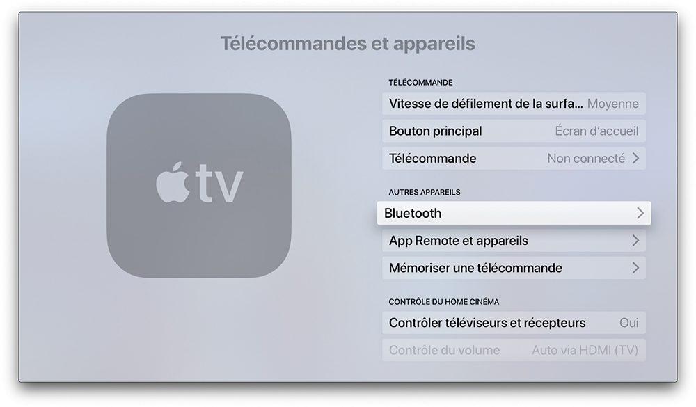 apple tv bluetooth Comment connecter une manette de PS4 ou de Xbox sur iPhone, iPad ou Apple TV