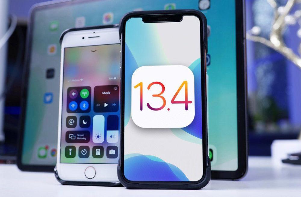 iOS 13.4 Finale La version finale diOS 13.4 et diPadOS 13.4 est disponible