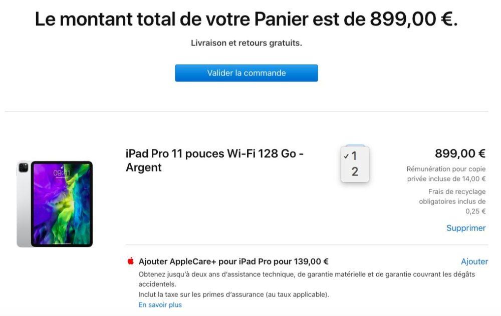 iPad Pro 2020 Achat Limite Apple a mis en place des limites dachat sur le nouvel iPad Pro, le nouveau MacBook Air et les iPhone