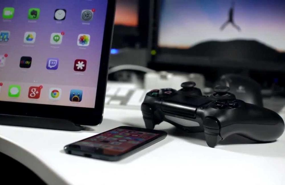 manette iphone ipad Comment connecter une manette de PS4 ou de Xbox sur iPhone, iPad ou Apple TV