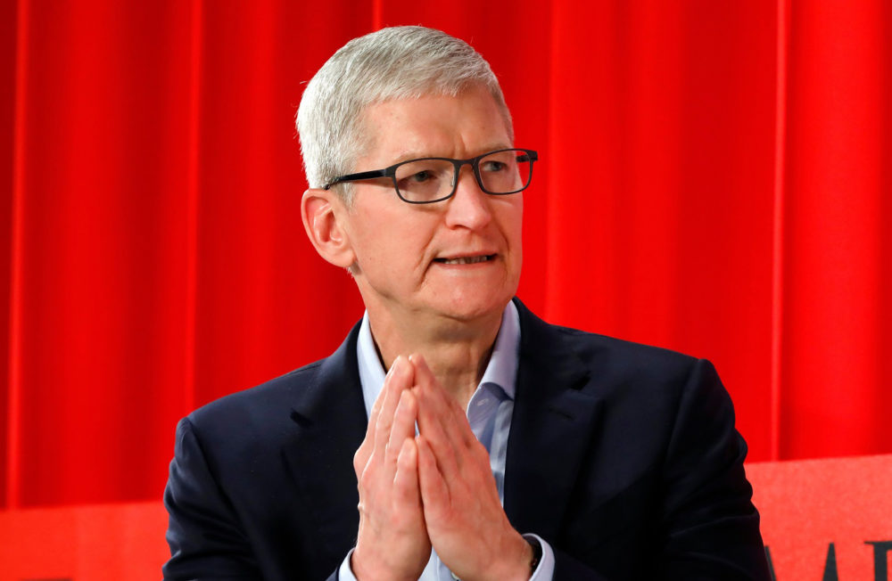 tim cook apple Selon Tim Cook, le PDG dApple, la Chine arrive à maîtriser le coronavirus