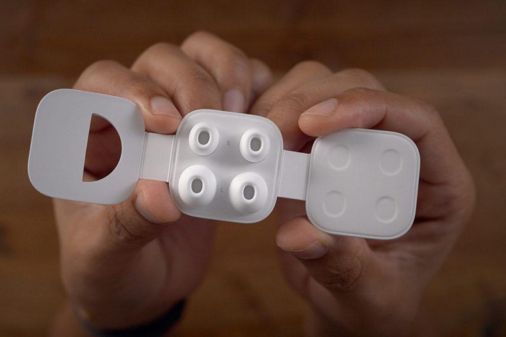 AirPods Pro Embouts Remplacement AirPods Pro : Apple vend désormais les embouts de remplacement (9 euros)