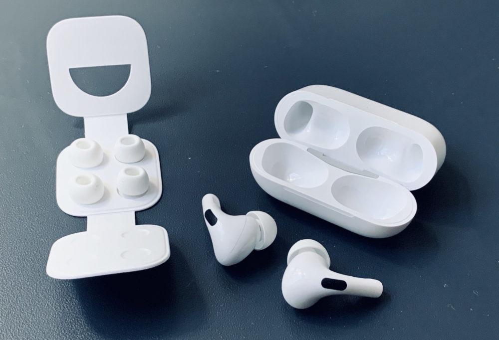 Apple AirPods Pro Embouts Les nouveaux AirPods auraient le design des AirPods Pro, mais la réduction de bruit serait absente
