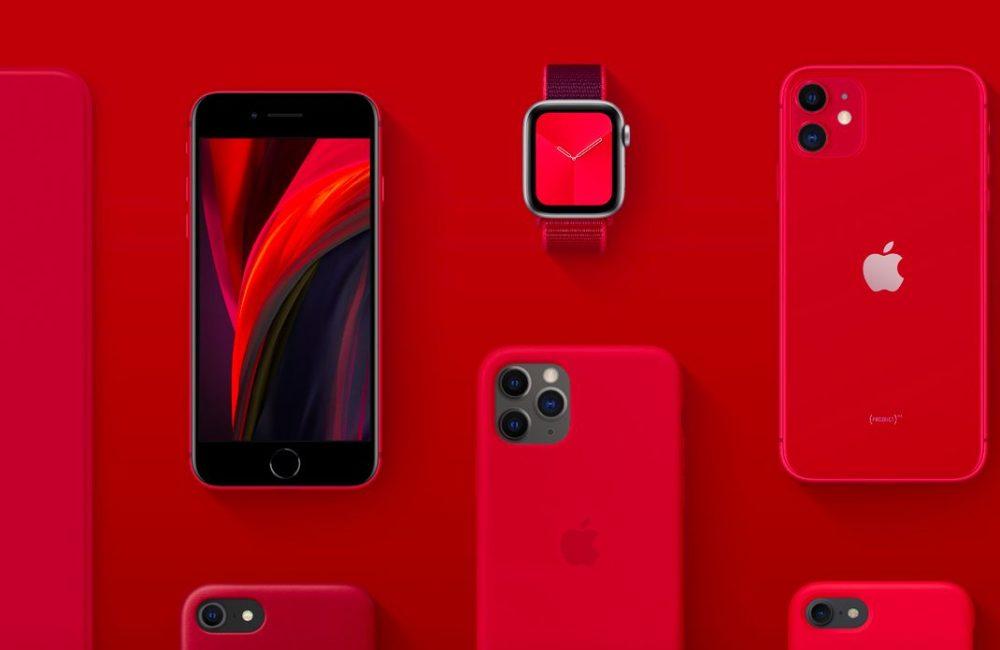 Apple Product RED PRODUCT(RED) : Apple fait don de largent collecté pour lutter contre le coronavirus (COVID 19)