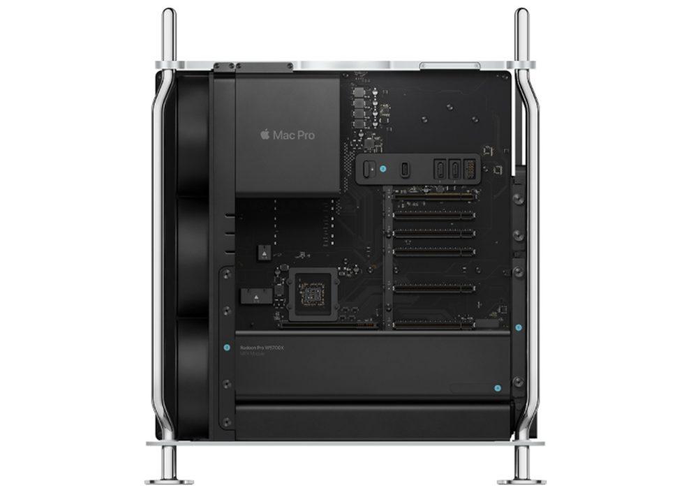 Mac Pro 2019 Module MPX avec Radeon Pro W5700X Mac Pro : la carte graphique Radeon Pro W5700X est maintenant disponible