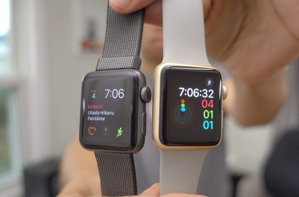apple watch series 1 vs series 2 watchOS 6.2.1 est à la fin proposé sur les Apple Watch Series 1 et 2