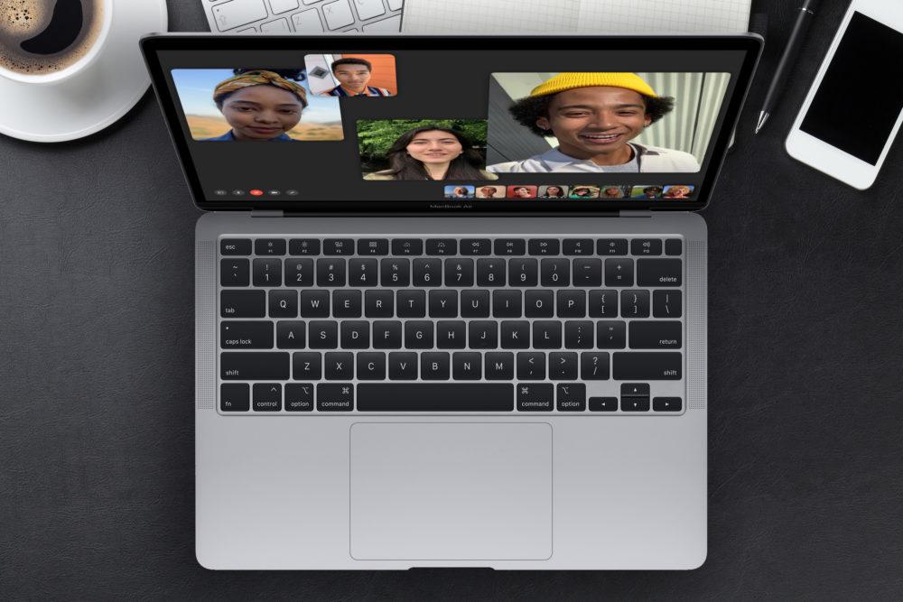 Apple MacBook Air 2020 MacBook Air 2020 : lécran est 30% plus lumineux quand il tourne sous Windows