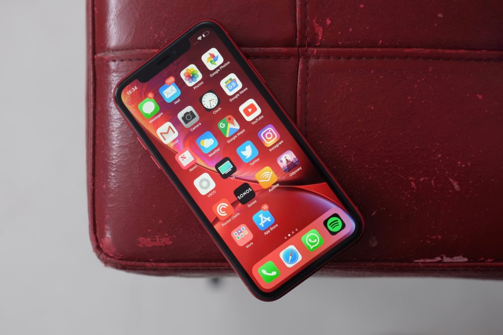 Apple iPhone XR Rouge Apple propose à la vente aux États Unis des iPhone XR reconditionnés
