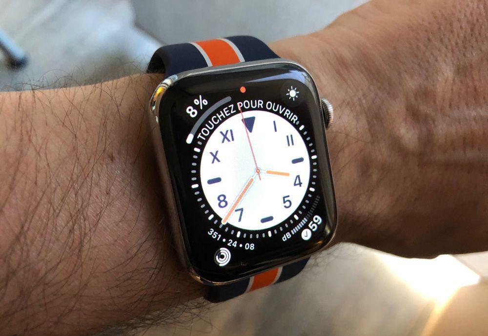 Cadrans watchOS 6.1 La version finale de watchOS 6.2.5 et de watchOS 5.3.7 sont proposées au téléchargement