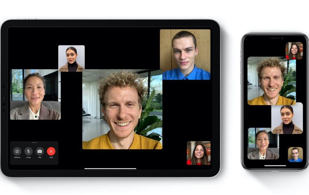 Groupe FaceTime Zoom FaceTime : iOS 13.5 propose une fonction pour désactiver le zoom sur la personne qui parle