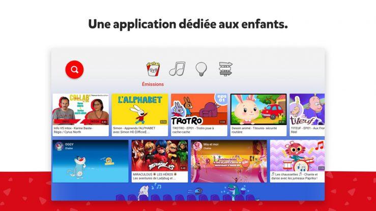 YouTube Kids Application Apple TV YouTube Kids : lapplication de YouTube dédiée aux enfants est disponible sur lApple TV