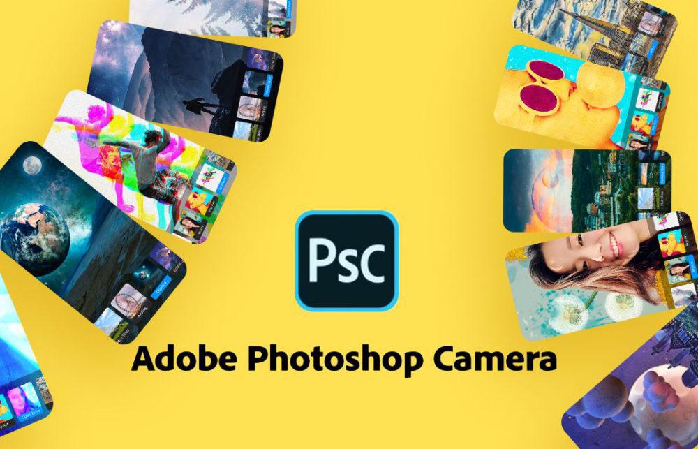 Adobe Photoshop Camera Photoshop Camera : Adobe lance une nouvelle app de retouche photo