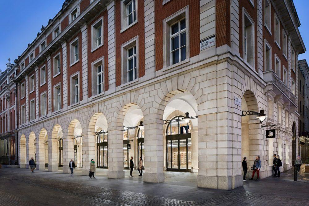 Apple Store Angleterre Apple va rouvrir les portes de ses Apple Store qui sont situés en Angleterre