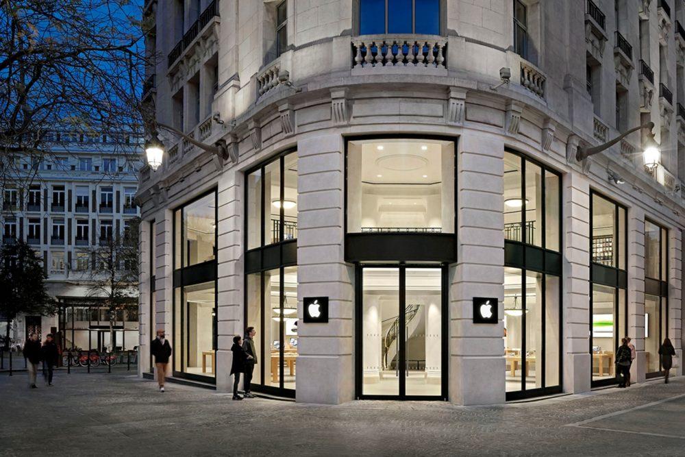 Apple Store Lille Les portes des Apple Store restent ouverts à Paris et Lille en dépit du confinement