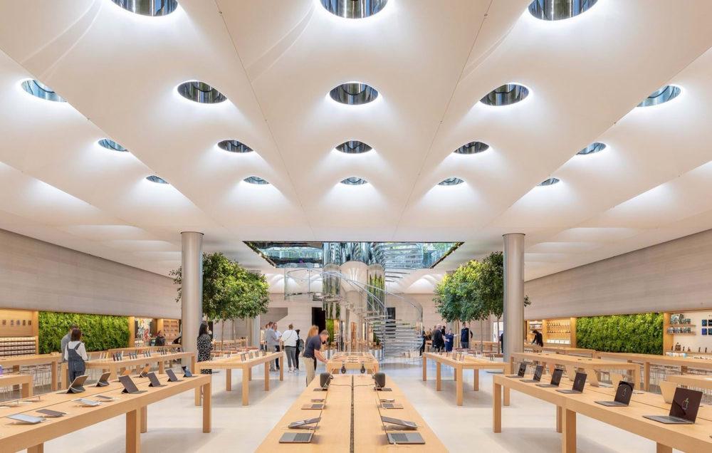 Apple Store NY Les ventes en ligne ont grimpé avec le COVID 19, mais Apple va ouvrir de nouveaux Apple Store physiques