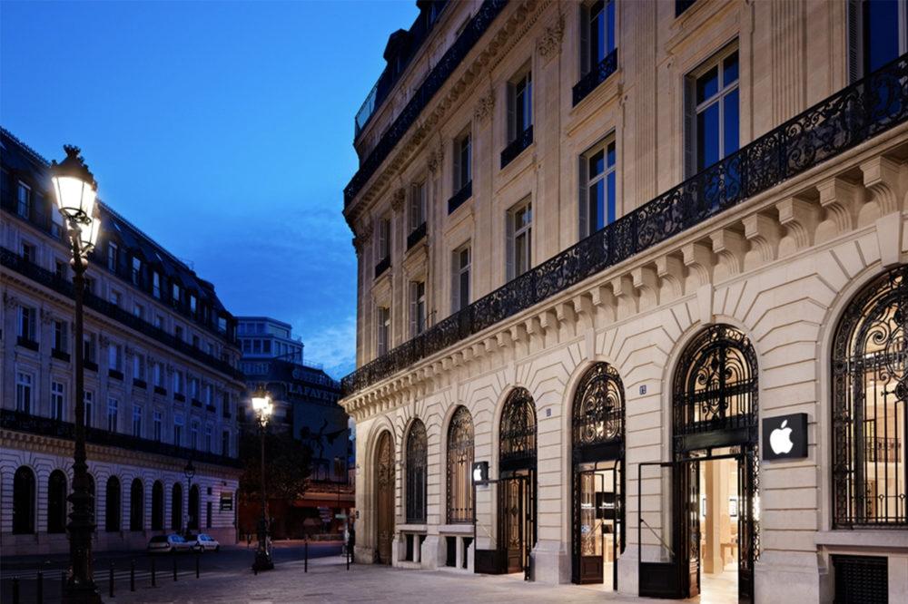 Apple Store Opera Apple annonce que les Apple Store en France vont rouvrir leurs portes le 9 juin