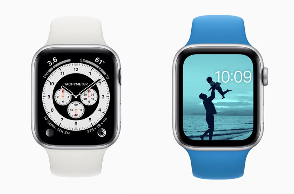 Apple Watch watchOS 7 Cadrans watchOS 7 est arrivé : partage de cadran, audition, suivi du sommeil, contrôle du lavage des mains, etc.