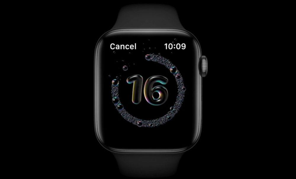 Apple Watch watchOS 7 Lavage Mains watchOS 7 : voici les Apple Watch qui seront compatibles