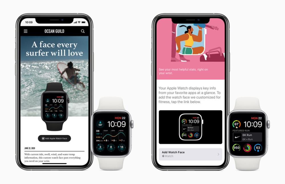 Apple Watch watchOS 7 Partage Cadrans watchOS 7 est arrivé : partage de cadran, audition, suivi du sommeil, contrôle du lavage des mains, etc.