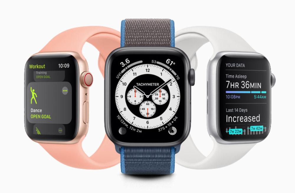 Apple Watch watchOS 7 watchOS 7 est arrivé : partage de cadran, audition, suivi du sommeil, contrôle du lavage des mains, etc.