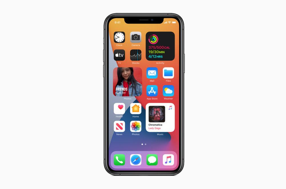 Apple iOS 14 Widgets Redesines iOS 14 est là : widgets sur lécran daccueil, App Clips, Image dans Image, nouvel écran pour les appels...