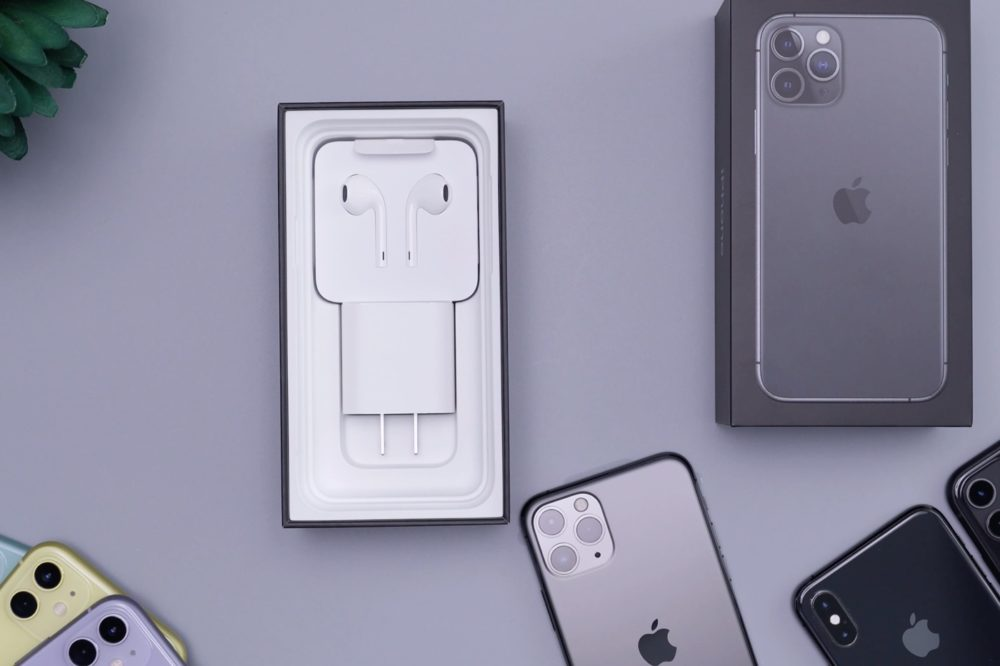 Apple iPhone 11 Pro Boite Une autre rumeur affirme que les iPhone 12 arriveraient sans les EarPods dans la boîte