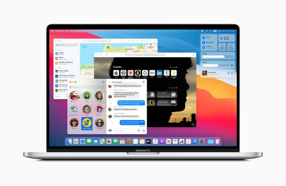 Apple macOS Big Sur MacBook Pro Apple rend disponible au téléchargement macOS Big Sur 11 version finale