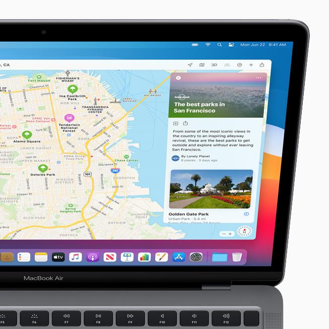 Apple macOS Big Sur Plans Apple lève le voile sur macOS Big Sur : un design revu Plans, Messages et Safari améliorés...