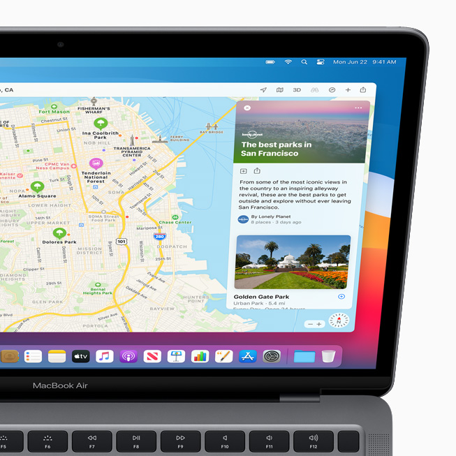 Apple macOS Big Sur Plans Apple lève le voile sur macOS Big Sur : un design revu Plans, Messages et Safari améliorés...