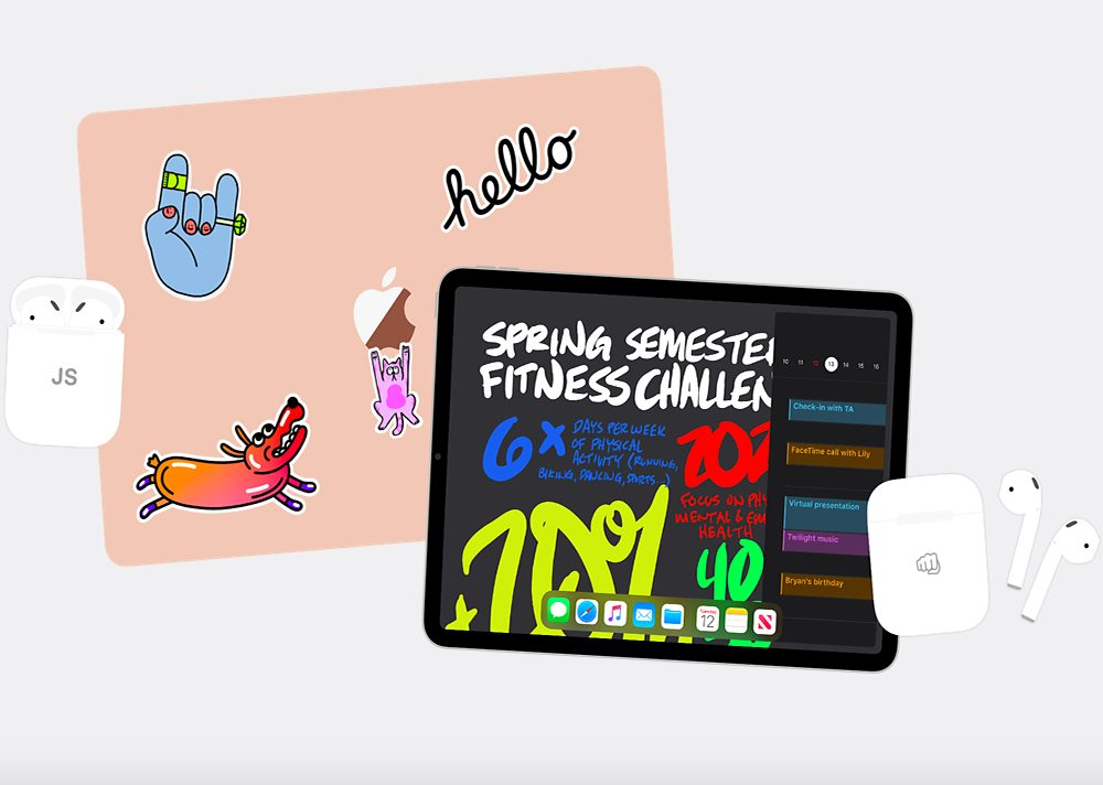 Back To School Apple 2020 Back to School 2020 : à lachat dun iPad ou dun Mac, vous recevrez gratuitement des AirPods