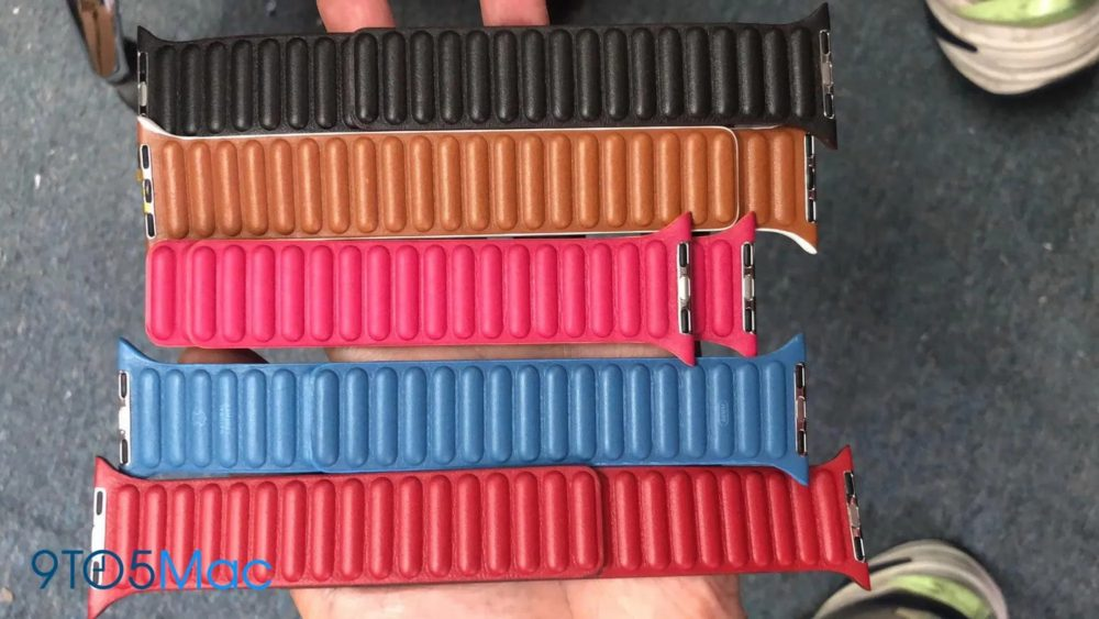 Bracelets Cuir Apple Watch 7 Bracelets Apple Watch : de nouveaux modèles en cuir se dévoilent