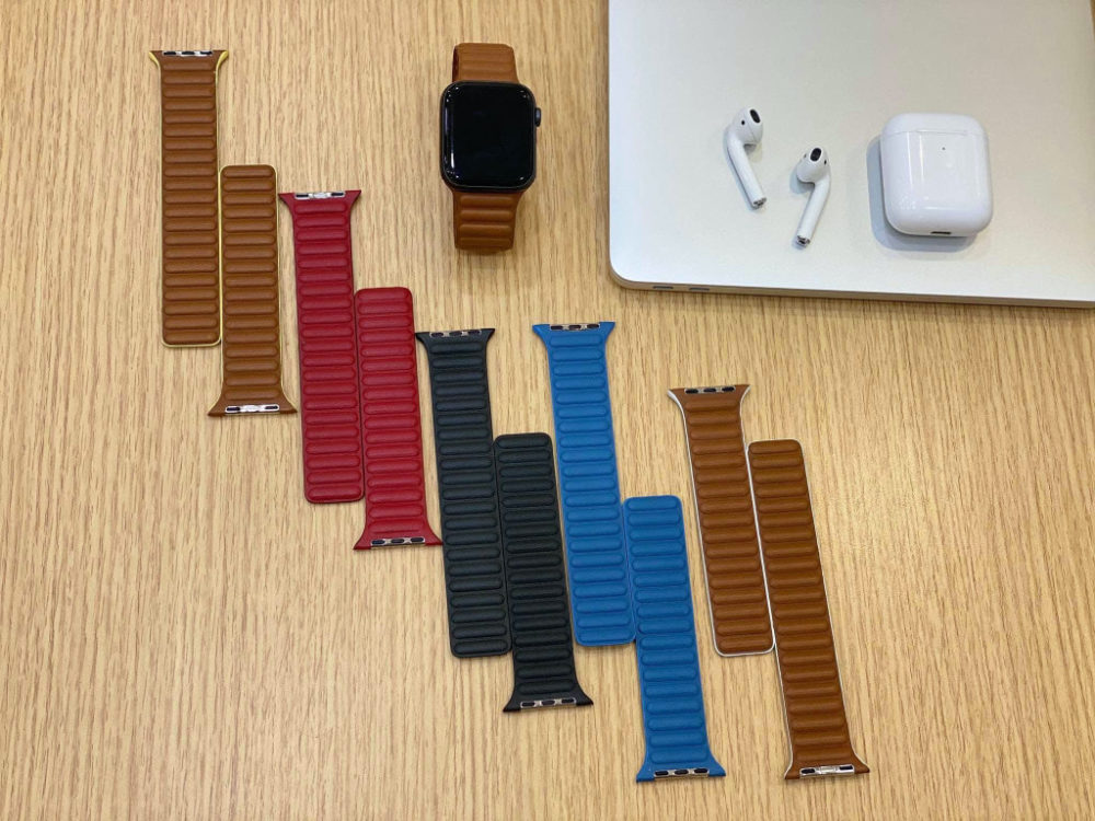 Bracelets Cuir Apple Watch Bracelets Apple Watch : de nouveaux modèles en cuir se dévoilent