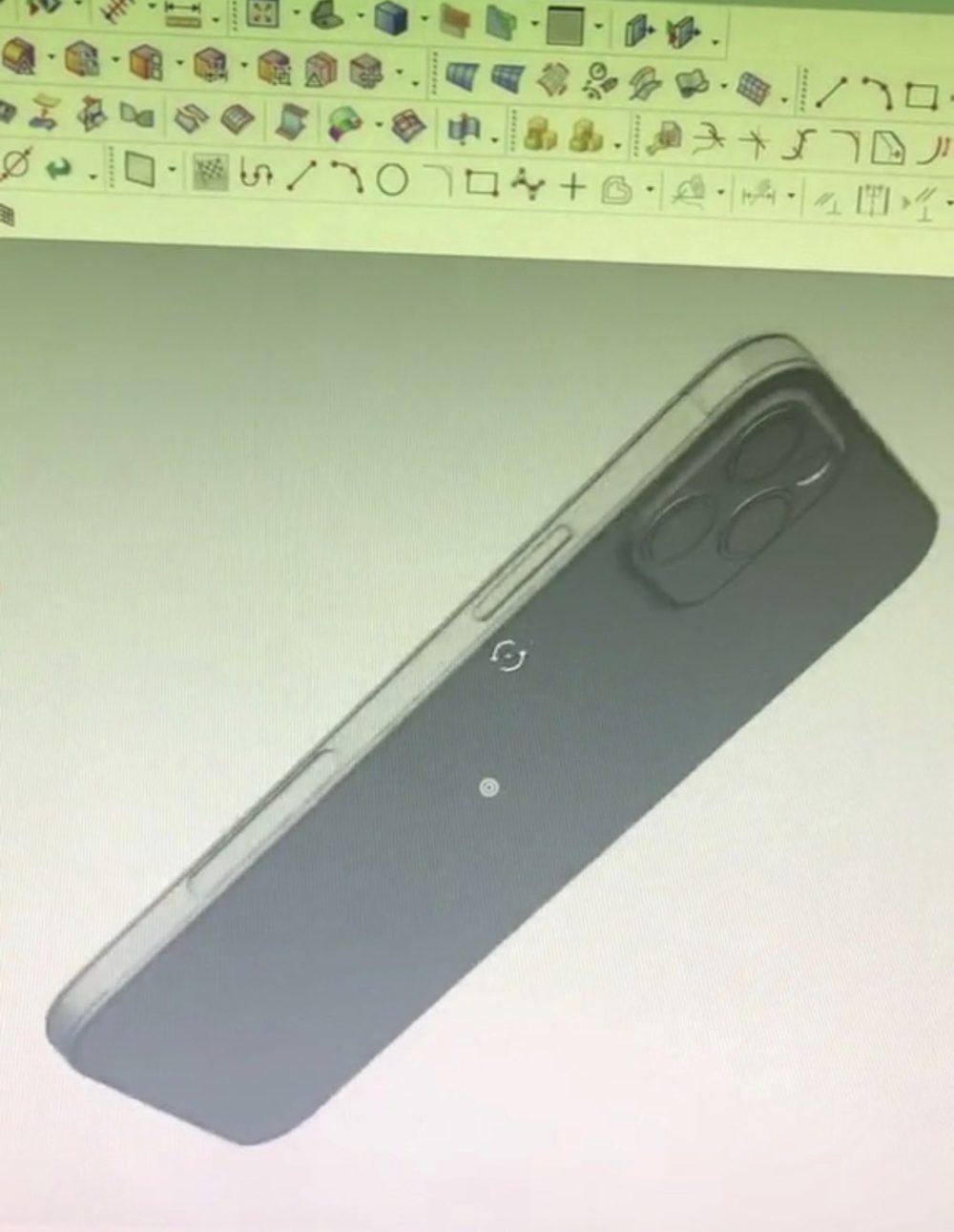 iPhone 12 : le design de liPad Pro actuel confirmé par des moules et des rendus CAD